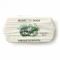 Beurre Doux lait cru 250gr