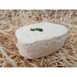 Chèvre st Henri au thym, lait cru 120 gr