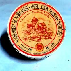 Camembert L' ABBAYE lait cru 250gr